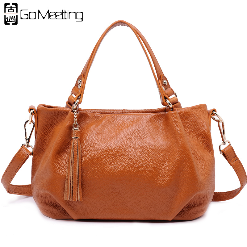 Aliexpress.com : Buy Go Meetting Genuine Leather Women ...