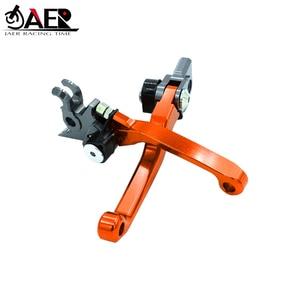 Image 1 - JAER CNC Pivot Brake Clutch Levers สำหรับ KTM SXF SX EXC XC XCF XCW MXC 125 200 250 300 400 450 505 525 2005 2006 2007 2008