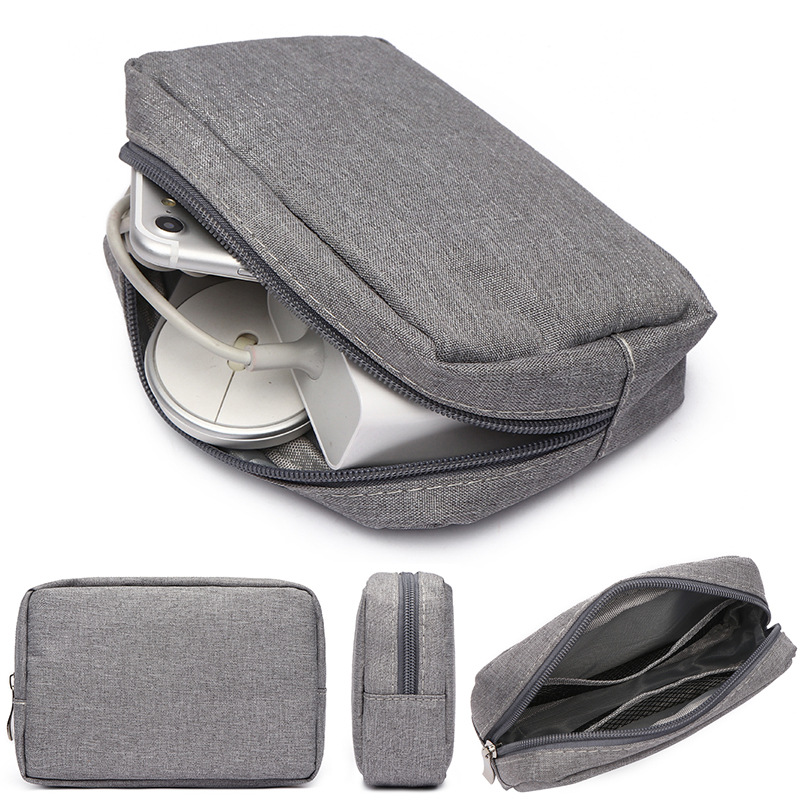 Electronic Accessories Organizer Bag Travel Cable USB Charger Storage Portable Hard drive disk bag Power bank USB cable Bag