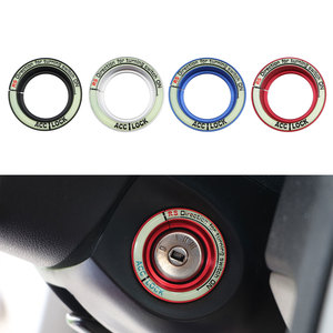 Jameo Auto Ignition Key Switch Ring Sticker for Focus 2 MK2 Key Hole Circle Stickers for Ford Focus 3 MK3 MK4 Kuga Everest Parts(China)