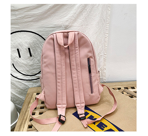 HTB18U9TXvb2gK0jSZK9q6yEgFXab 2019 Backpack Women Backpack Fashion Women Shoulder Bag solid color School Bag For Teenage Girl Children Backpacks Travel Bag