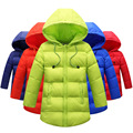 2016 new autumn/winter children light down jacket boy's and girl's down jacket 3-12 years old children winter clothing 16910