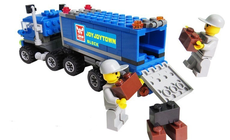 163pcs Legoings Deformed Truck Car Building Blocks