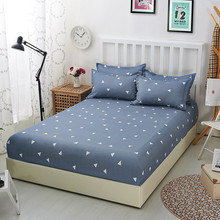 24 Color Select Polyester Elasticity Mattress Cover Microfiber Protector Bed Bug Proof Pad for