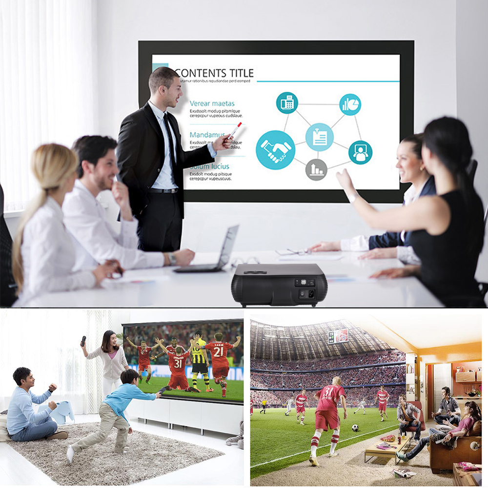 Vivicine M2 HD Home Projector (5)