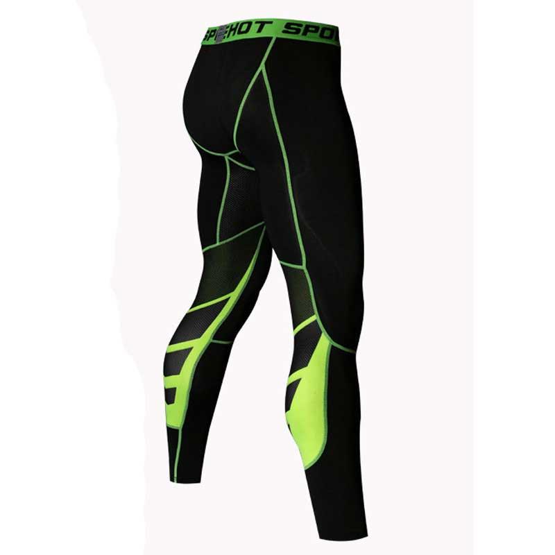 Hommes de Course Collants Pro Compresser Yoga Pantalon GYM Exercice de Remise En Forme Leggings D'entraînement de Basket-Ball Exercice Hommes Sport Vêtements UX22
