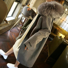 Woolen Coat Women's Solid