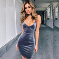 2017 Spring Pleuche Night Club Dress Sexy Bodycon Backless Belts Woman Dresses Sleeveless Formal Party Wear Ladies Dresses