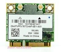 New For Dell DW1550 Broadcom BCM94352HMB Half Mini PCI E 802 11AC 867Mbps WIFI Bluetooth 4
