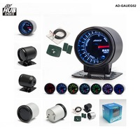 Hubsports 2 Inches 7 Color LED Smoke Face Car Auto Gauge Meter Car Gauge With Sensor