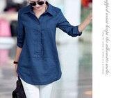 camisa feminina 2018 womens cotton linen shirts and tops Blouse Large women plus size xxxl 4xl 5xl 6xl White blouse