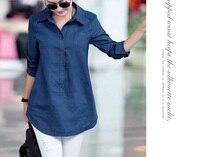 2015 new womens cotton linen shirts and tops Blouse Large women plus size xxxl, 4xl, 5xl, 6xl