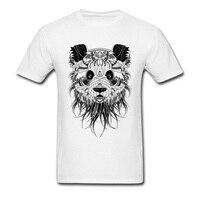 American Apparel Tshirt Men S Fashion Brand Design Ancient Panda T Shirt 100 Cotton Euro Size