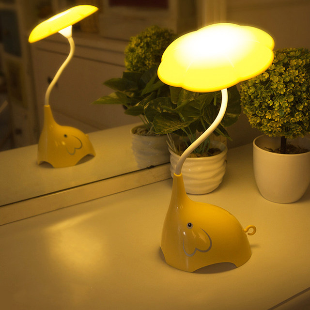 Online Shop Energy Saving USB LED Dimming Children Night Light - Touch lights for bedroom