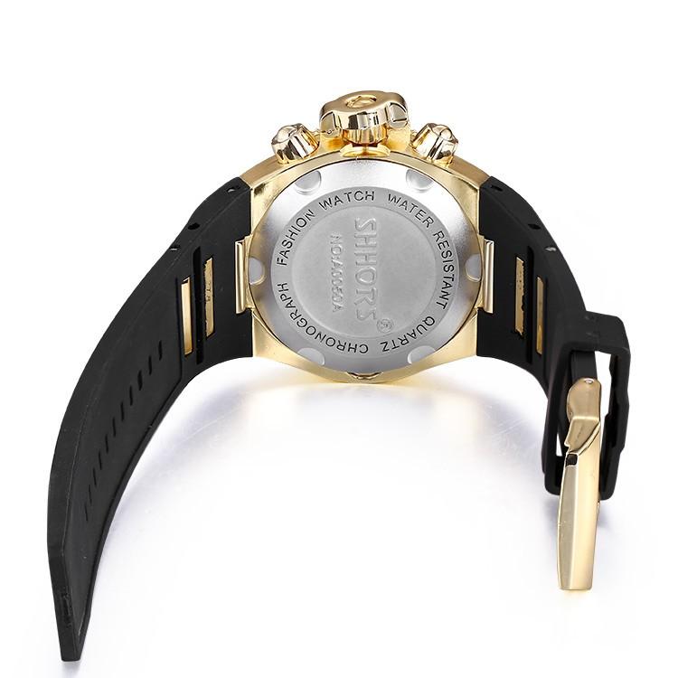 Montre à quartz étanche bracelet Silicone