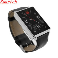 Smartch D6 Smartwatch ROM MTK6580 Quad Core Android Smart Watch Men For Samsung XiaoMi Support Health