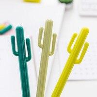 48pcs Lot Wholesale Cactus Gel Pen Cute Cactus Design Gel Pen Office School Pens Students Fashion