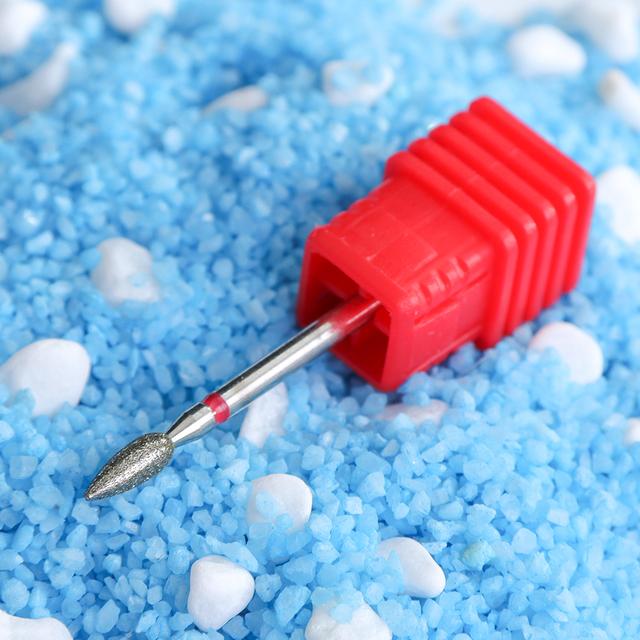21 Type Ceramic Nail Drill Bit Diamond Electric Manicure Cutter Machine Rotate Remove Head Accessories Nail Art Tools TRGS/M/S