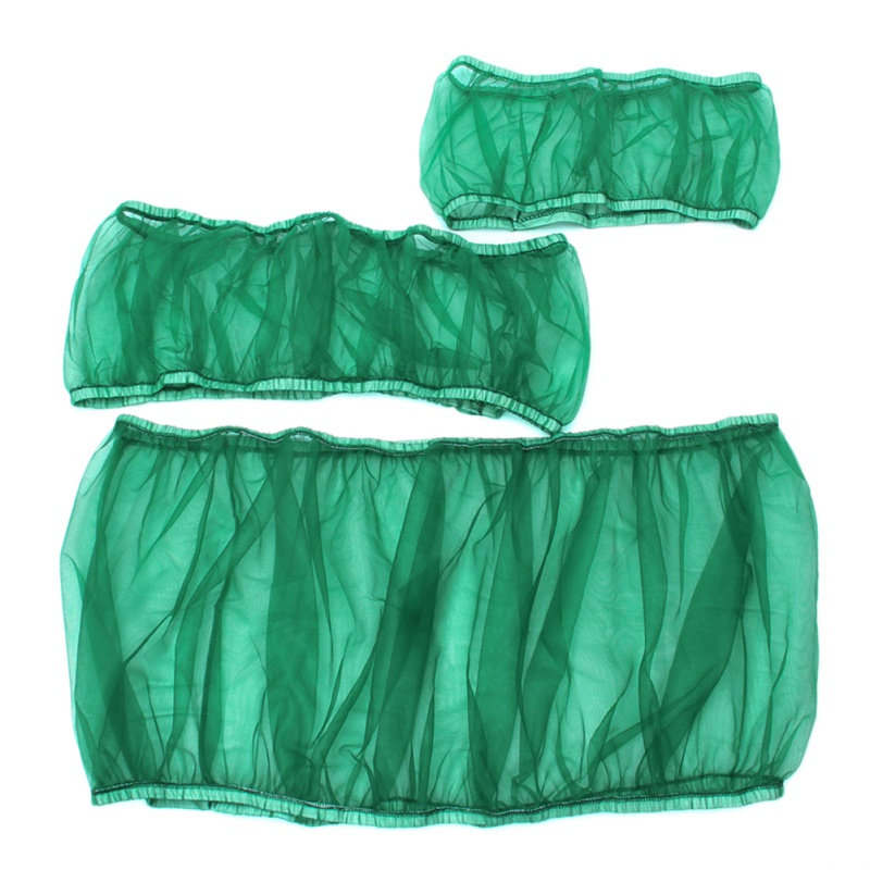 Seed Guar Catcher Guard Mesh Bird Cage Cover Shell Nylon Skirt Trap Cage Basket
