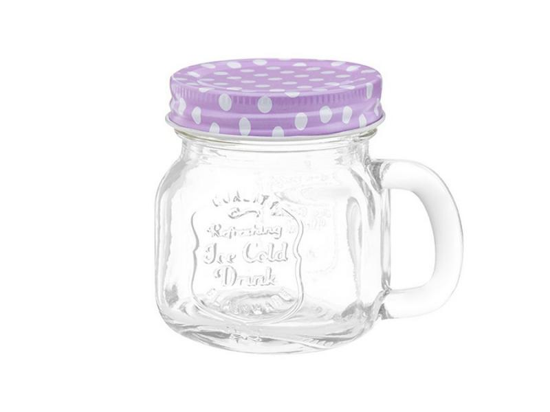 Jar Spice Elan Gallery, Lilac polka dot 260 ml dot