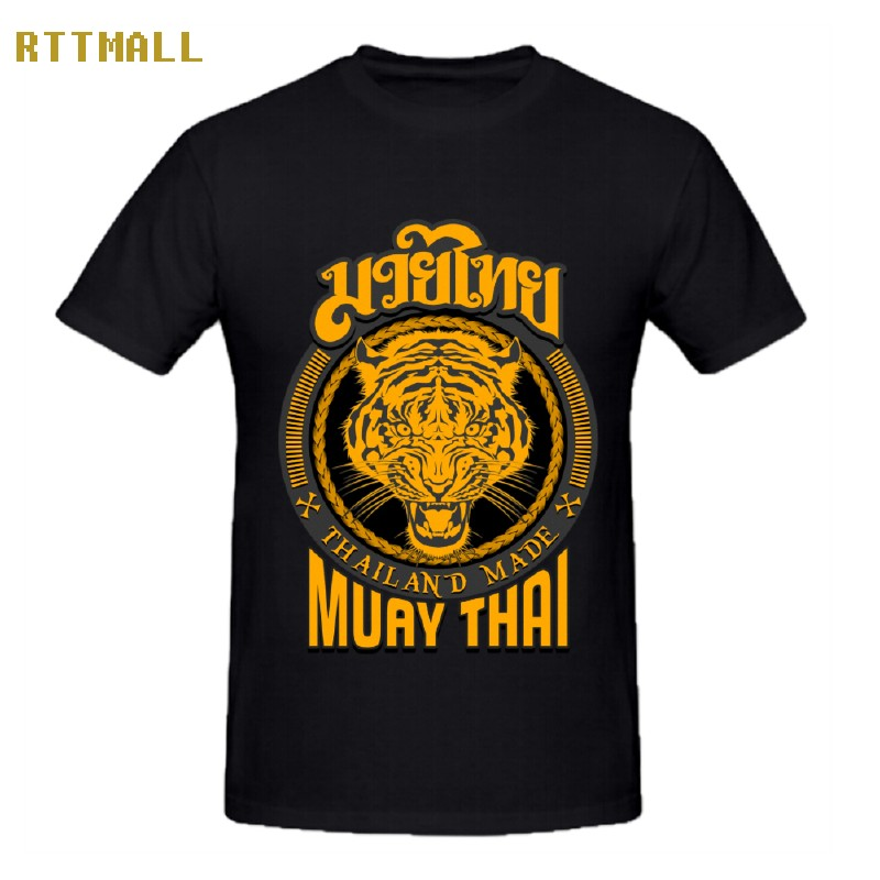 Rttmall off white hispter t shirt mens cotton muay thai for T shirt printing thailand