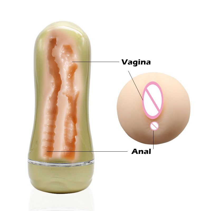 MizzZee Male Masturbators Sex Toys For Men Realistic Vagina Anal Tunnels Masturbation Cup Sex Products Realistic Mouth Oral Sex pretty love golden masturbation cup vagina anal mouth sex cup adult sex toy for men sex product male masturbators flexible soft