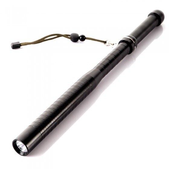 Супер Яркий 800LM Q5 Baseball Bat СВЕТОДИОДНЫЙ Фонарик самооборона Придерживайтесь defensa personal светодиодный фонарик Фонарик С 18650 батарей