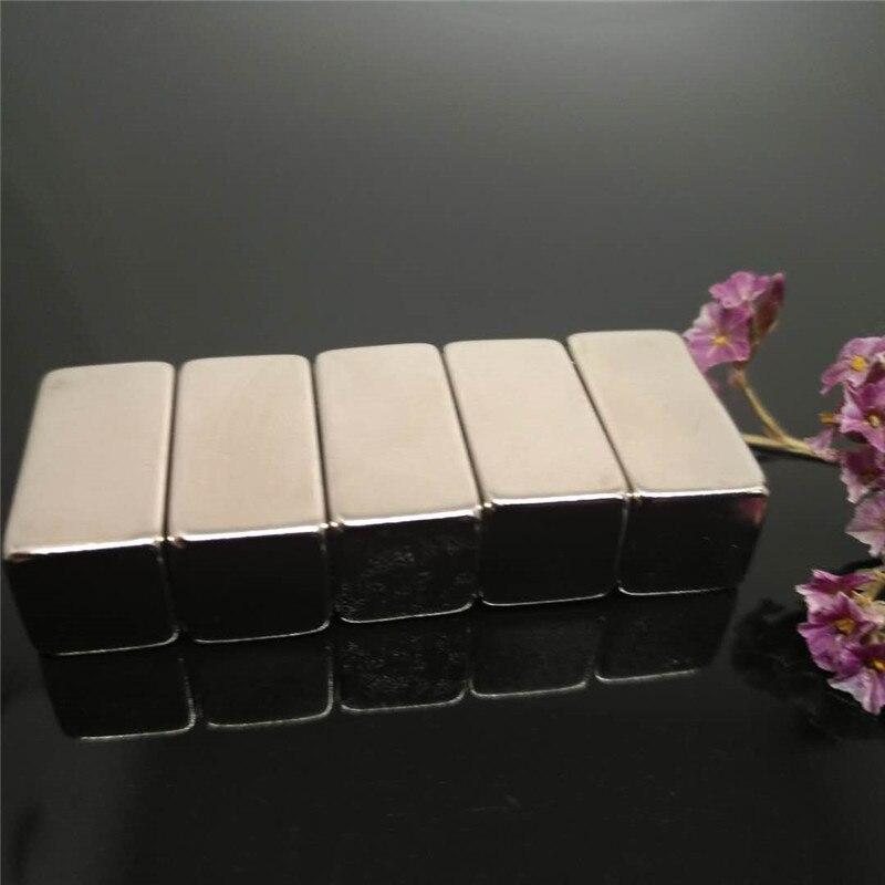 Zion 50pcs 20x10x10mm strong magnets neodymium N35 super permanent block cuboid NdFeB rare earth magnet 20mmx10mmx10mm