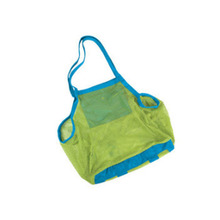 Ladys hand outdoor swimming bag Portable Beach Bag Foldable mesh swim toy storage Grid fast filtering package B1