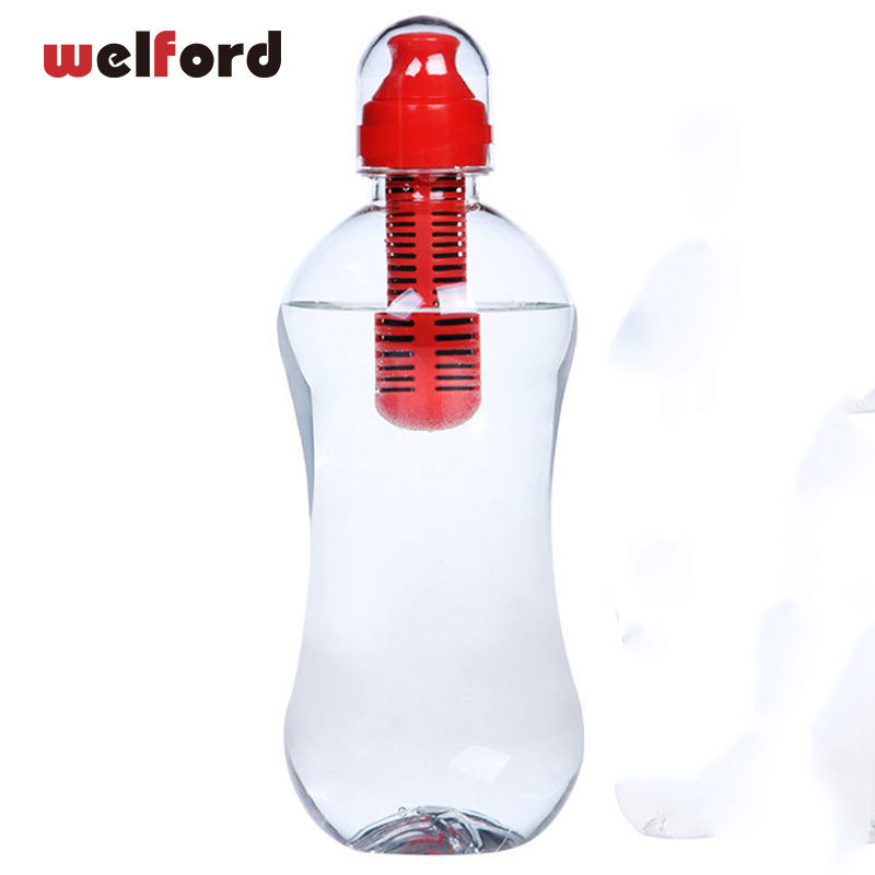 Gym Bottle Water Drink Sport Drinking Outdoor Cup Sports Bpa Free Kettle Filter