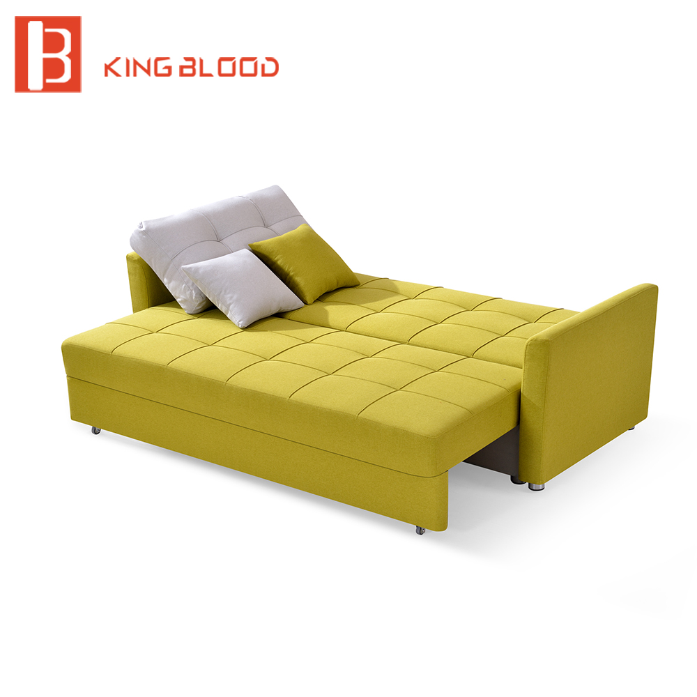 Canada Fabric Storage Sofa Bed Wooden Designs