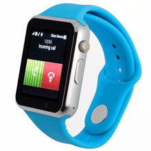 Bluetooth Smart Watch font b Smartwatch b font A1 Android Phone Call Relogio 2G GSM SIM