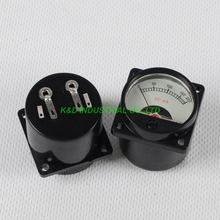 1pc VU Current 200mA Panel Meter Warm Light Black fr 300B 845 Tube Amplifier table so 45 200ma