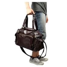 Men Leisure England Retro Handbag