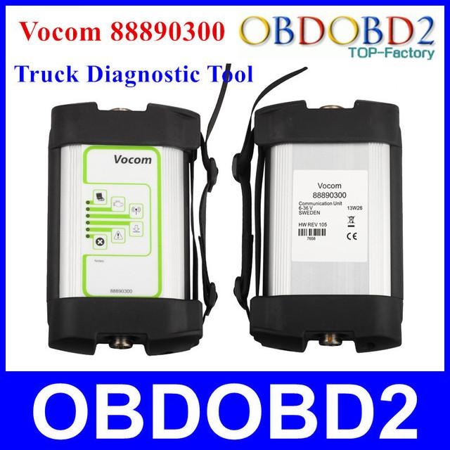 Melhor Qualidade 88890300 Vocom Interface De Diagnóstico Para Renault/UD/Mack/Volvo Vocom 88890300 Caminhão Ferramenta de Diagnóstico Livre grátis