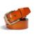 Alta Calidad 100% Hombres de La Correa de Cuero Genuino Famosos Cinturones de Diseño Hombres Correa Cinturón de Marca para Los Hombres Pantalones de Cintura Hebilla de Latón