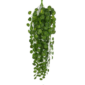 Artifical Decoration Vine Delicate Artificial Ivy Leaf Garland Plant Vine Fake Foliage Party Wedding decoration home Decor gift 1