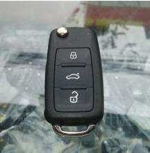 Бесплатная Доставка 100% Оригинал 3 кнопки 3B дистанционного ключа для VW 434 МГЦ С ID48 Чип Номер 5K0 837 202AD