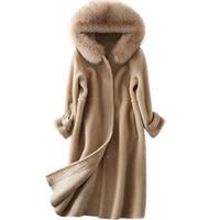 Elegant Faux Fur Coat Women 2018 Autumn Winter Warm Soft Fur Jacket Female Thicken Warm Overcoat Casual Outerwear