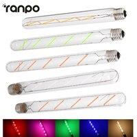 High Quality E27 T30 5W Edison Retro Vintage 220V 110V LED Filament Light Bulb Tubular Lamp