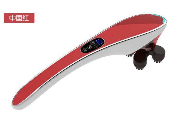 Электрический шейный позвонок устройства Массажер вибрационный разминание плечо назад шеи Инфракрасный Массажер шиацу Средства ухода за ...