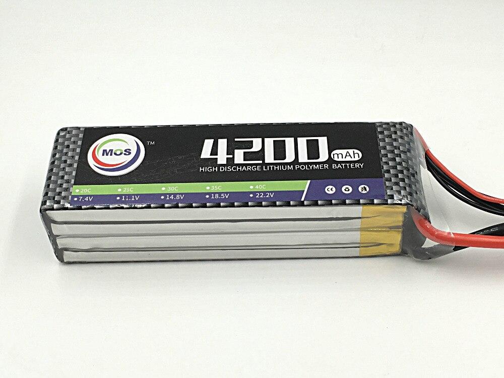 ФОТО MOS 11.1v 4200mah 40c 3s lipo battery for rc airplane free shipping