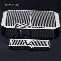 Radiator Grille Guard Oil Cooler Protector For SUZUKI DL650 DL 650 V Strom 2004 2010 05 06 07 08 Motorcycle Fuel Tank Protection