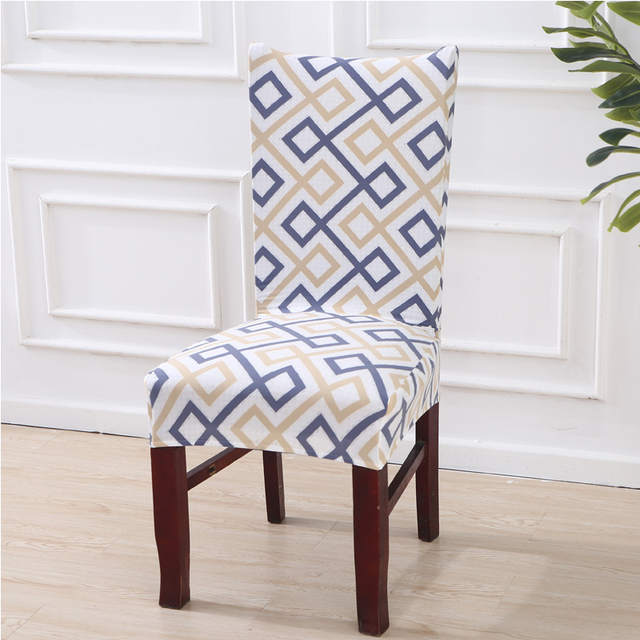 US $4.01 41% OFF|Kitchen Chair Cover Stretch office chair Slipcovers for  Armchairs dining seat covers for computer chairs Spandex Chair Covers 1P-in  ...
