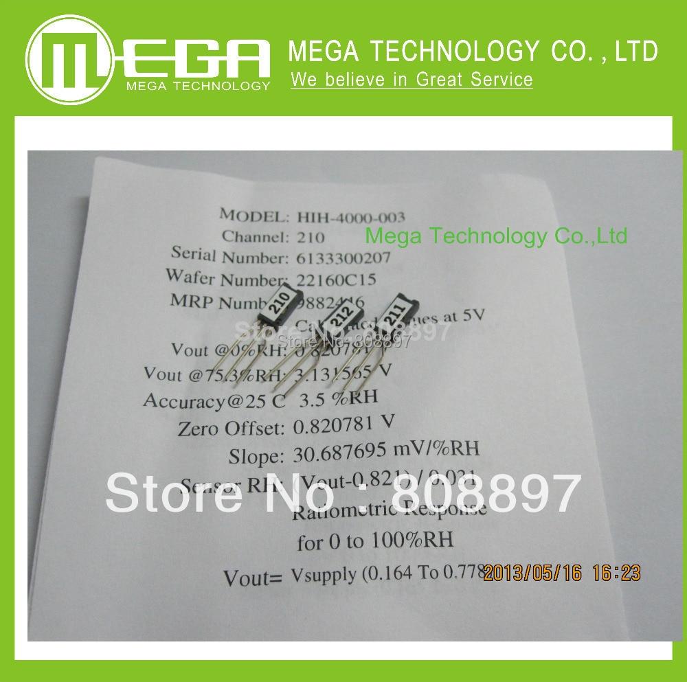 10pcs lot HIH4000 SIP Humidity Sensors Full parts NO HIH4000 003