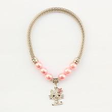Armi store Handmade Doggie Accessories Diamond Pendant Necklace 6051021 Cute Cat Dog Jewelry Collars