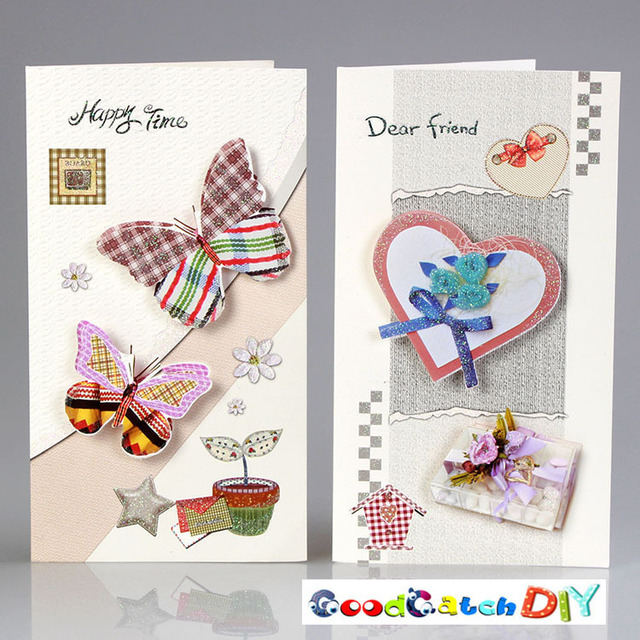 Christmas Gift Paper Cards Birthday Card Post Card Creative Greeting