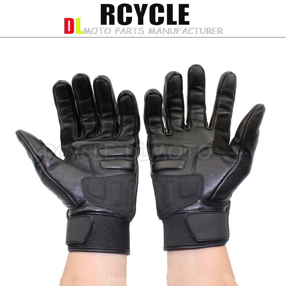 Buy leather motorcycle gloves - 2016 Hot Sale Motorcyclists Leather Gloves Long Section Of Men S Leather Motorcycle Gloves Flame Gloves