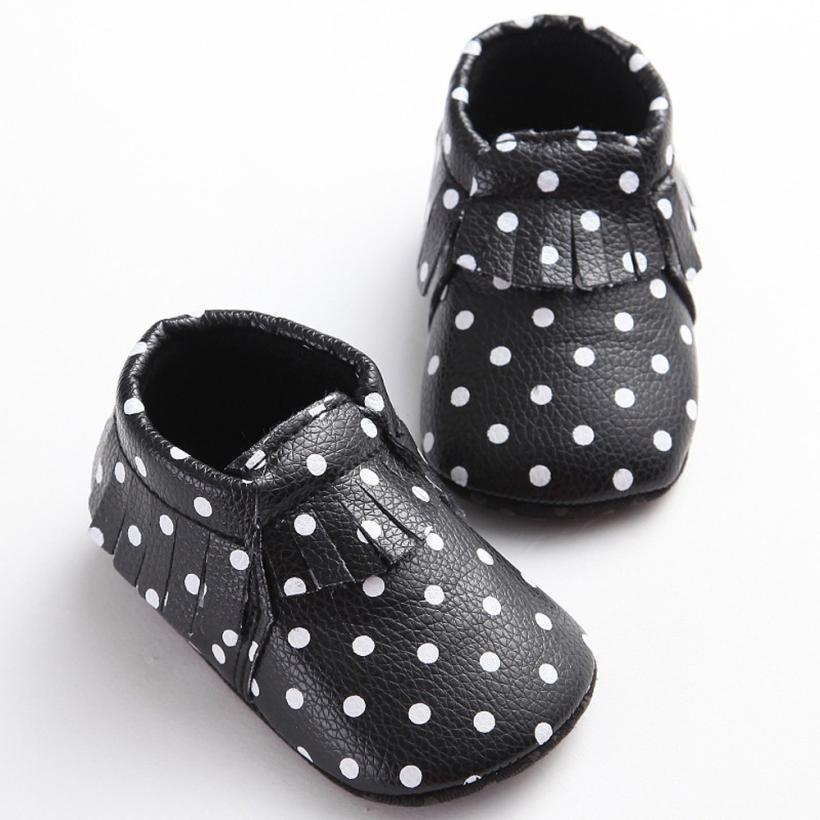 Baby Shoes Sneaker Moccasins Prewalker Soft-Sole Anti-Slip Unisex Neonata Scarpe Tassels