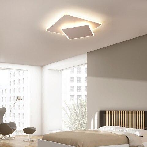 ultra fino marrombranco rotatable modernas luzes